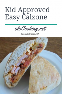 kid approved easy calzone