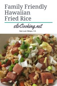 Family Friendly Hawaiian Fried Rice