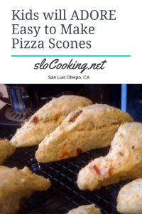 Kids Will Adore These Easy to Make Pizza Scones