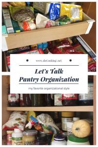 Pantry Organization sloCooking.net