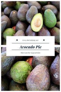 Avocado Pie sloCooking.net