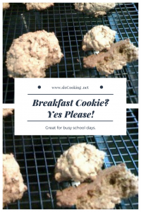 Cookies for Breakfast - Breakfast Cookie sloCooking.net