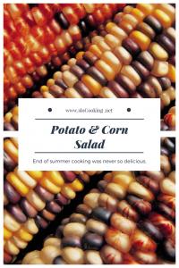Potato & Corn Salad sloCooking.net