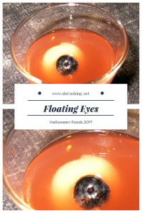 Floating Eye Drink sloCooking.net Halloween Foods 2017