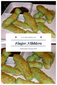 Finger Nibblers sloCooking.net Halloween Foods 2017