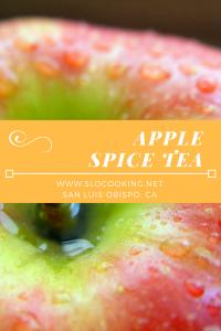 Apple Spice Tea