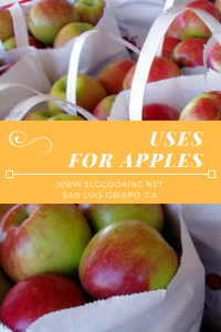 How do you use apples?