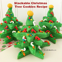 ANNS ENTITLED LIFE_StackableChristmasTreeCookie