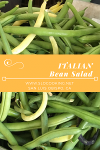 Italian Bean Salad from sloCooking.net