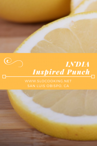 India Inspired Punch from sloCooking.net