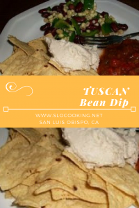 Tuscan Bean Dip from sloCooking.net