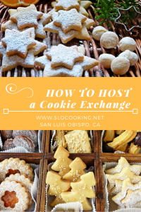 How to Host a Cookie Exchange from sloCooking.net