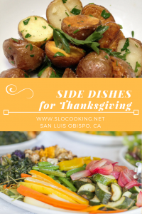 Nine Perfect Side Dishes for Thanksgiving from sloCooking.net