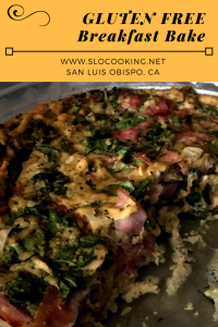 Gluten & Dairy Free Breakfast Bake from sloCooking.net