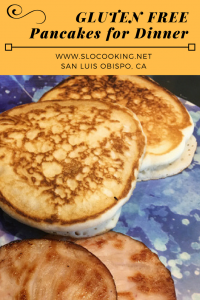 Gluten Free Pancakes for Dinner from sloCooking.net