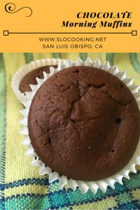 Chocolate Morning Muffin from sloCooking.net