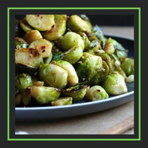 the forked spoon_roasted brussells sprouts_linkparty_slocooking.net