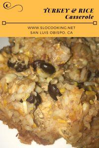 turkey & rice sloCooking.net #poultry #casserole