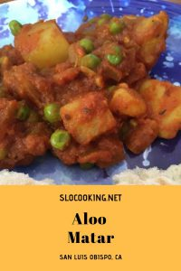Aloo Matar by slocooking.net #slocooking #indianfood #familyfriendly #easyrecipe