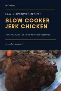 Slow Cooker Jerk Chicken from slocooking.net #slowcooker #crockpot