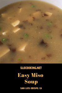 Easy miso from sloCooking.net #soup
