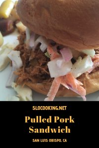 Easy BBQ Pulled Pork from sloCooking.net #slowcooker #BBQ #crockpot