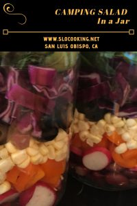 Salad in a Jar from sloCooking.net #salad #easyrecipe #campingfood