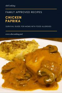Allergy Friendly Recipe Chicken Paprika from sloCooking.net