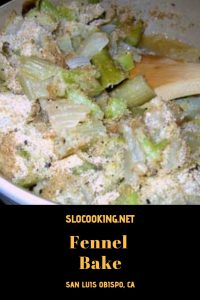 dairy free fennel bake from sloCooking.net