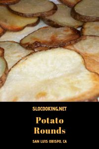 Potato Rounds from sloCooking.net