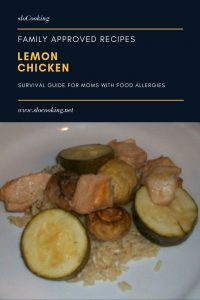 Lemon Chicken by sloCooking.net #familyfrinedly #easyrecipe