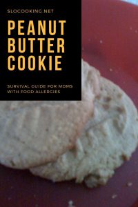 Peanut Butter Cookies from sloCooking.net #dairyfree #glutenfree #cookies #baking