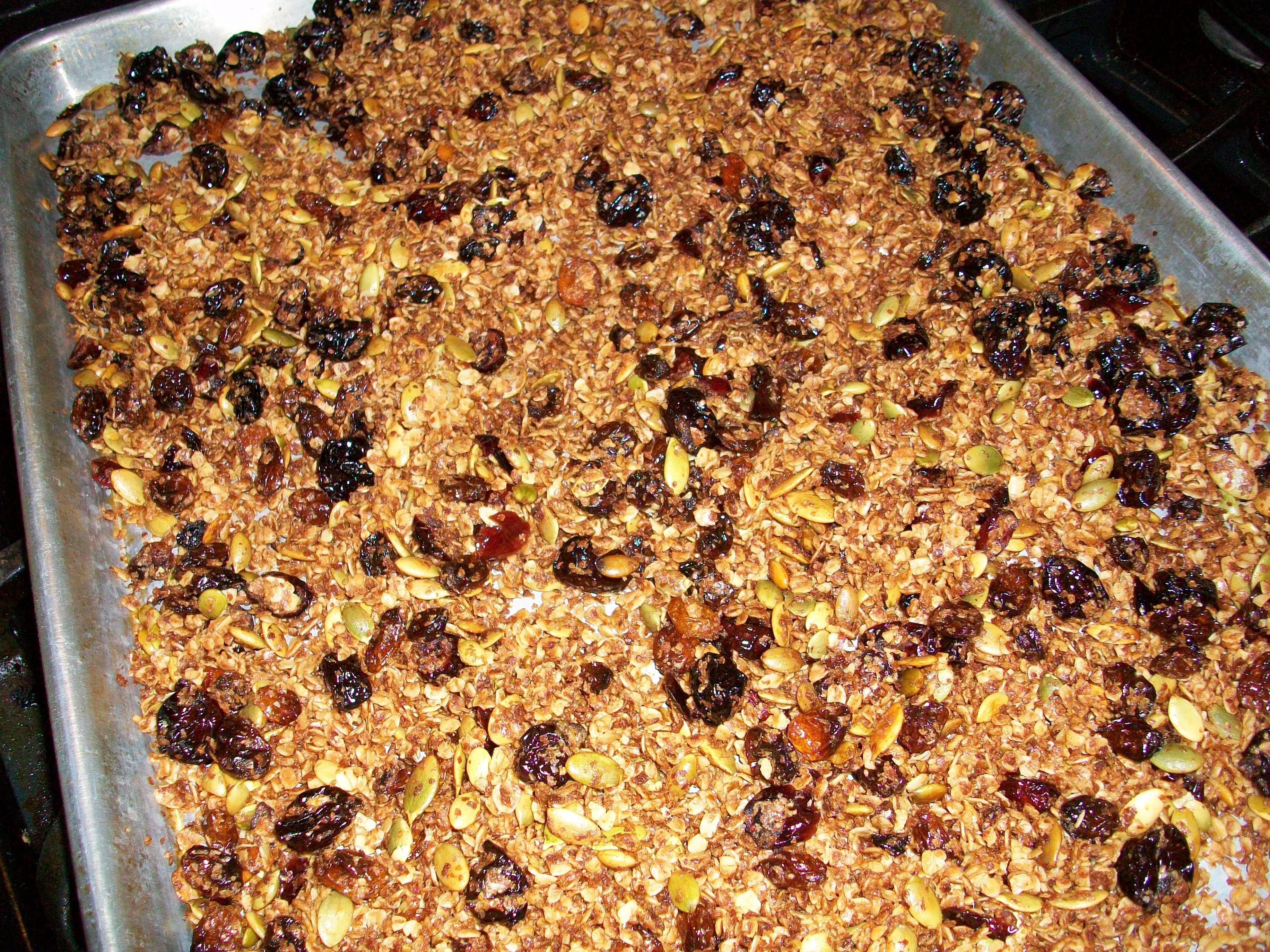 Granola for Breakfast from slocooking.net #breakfast