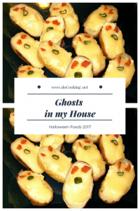 Edible Ghosts from sloCooking.net #halloween #halloweenfoods