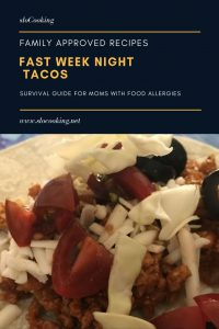 Fast week night tacos from sloCooking.net