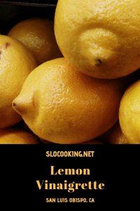 Lemon Vinaigrette from sloCooking.net #salad #vinaigrette
