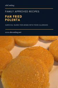 Pan Fried Polenta from sloCooking.net #easyrecipe #fastdinner
