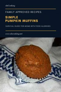 simple pumpkin muffins from sloCooking.net #muffin #baking